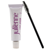 Julienne Eyelash Eyebrow Tint 15ml Dye Light Brown + Free Eyelash Wand 15ml