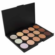 Jazooli 15 Shades Colour Concealer Makeup Palette Kit