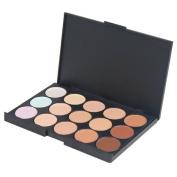 Accessotech 15 Colour Sheer Concealer Camouflage Palette Makeup Eyeshadow Bronzer Kit Set
