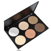 Palette 6 Colours Makeup Contour Face Eye Powder Foundation