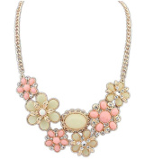 KAIKSO-IN Women New Vintage Bib Statement Necklace Party Jewellery Necklace Chunky