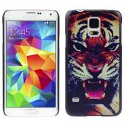 Ukamshop(TM)Tiger Roar Hard Case Cover Skin For Samsung Galaxy S5 i9600 G900