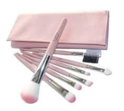 Professional Set of 7 pcs Make up Brushes With Case by Boolavard