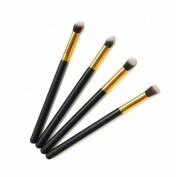 Fashion Base Professional 4 Pcs Glod Eye Brushes Set Eyeshadow Blending Pencil Brush Make up Tool Cosmetic