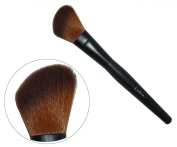LyDia professional black angled long mineral face loose powder blusher cosmetic makeup brush F09