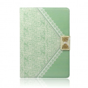 Atdoshop(TM) Fashion Fresh Cute Flip Wallet Leather Case Cover for iPad 2 3 4