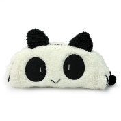 New Lovely Women's Panda Pencil Pen Card Case Cosmetic Notebook Makeup Bag Purse
