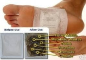 10 x GOLD Slimming Detox Foot Pad Patches Feet Patch Kinoki remove toxins by Boolavard® TM