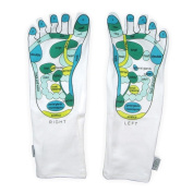 Reflexology Massaging Socks. Cotton moisture socks and moisturising foot socks for dry skin.