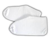 JTshop - Moisturising 98% Cotton White Sleep Socks