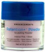 CND Retention + Sculpting Acrylic Powder - Intense Pink Sheer - 22g