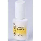 Cuccio Professional Brush On Nail Glue 6G