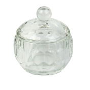 Hotsell Clear Nail Art Acrylic Crystal Glass Dappen Dish Liquid Powder Container