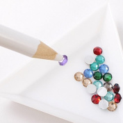 Accessotech Rhinestones Picker Pencil Nail Art Gem Jewel Setter Pen Picking Tool Wax Crystal