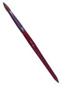 Professional Red Wood Kolinsky Acrylic Nail Brush Round Size 8 10 12 14 16 18 20 22