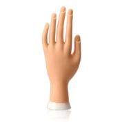 Vktech Hand Model Nail Art Practise Flexible Movable Soft