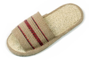 Loofah Savannah and Jute Open Toe Spa Slippers Size 43-44 European