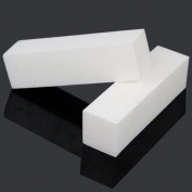 TNBL White 4 Way Nail Buffer Block 100/100 Grit - 20 pieces