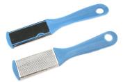 Blue Pedicure Foot Rasp File Scrubber Hard Dead Rough Skin Callus Remover 2-Side