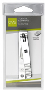 QVS Toe Nail Clipper with In-Built Laser File