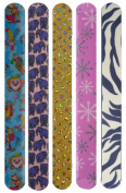 Funky Nail File - assorted pack of 5