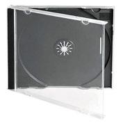 TradePriceInks 100 Single Black CD Jewel Cases