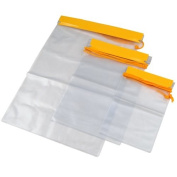 WMA 3X Waterproof Camera Mobile Phone Ipad Pouch Dry Bags For Backpack Kayak Military-Pack of 3