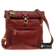 Catwalk Collection Leather Cross-Body Bag - Dispatch