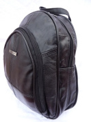 Italian Soft Leather Ladies Womens Backpack Rucksack Handbag 8491