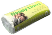 1x Roll of 100 Dudeybaba Flushable Bamboo Nappy Liners