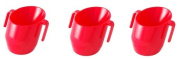 Bickiepegs Doidy Cup 3 Pack - Red