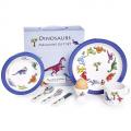 7 Piece Children's Melamine Gift Set -DINOSAURS