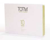 TOTM 100% Organic Applicator Tampons (Super) x 10