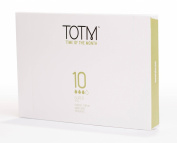 TOTM 100% Organic Applicator Tampons (Super) x 10