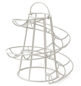 Wire Egg Run Cream, Egg Holder with Handle.