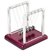 Newtons Cradle Steel Balance Balls Physics Science Pendulum Desk Accessory New