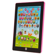 My First Tablet Kids Childrens Laptop Touch Type Learning Computer Educational Toy Game, Pink