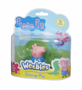 Peppa Pig Wobbily Figure and Base George Pig Character