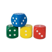 Jumbo Giant 5cm Wooden Dice, One Supplied Per Purchase
