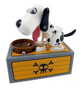 Cool Dalmatian Dog Piggy Bank - Robotic Coin Munching Toy Box for Kids