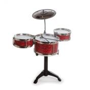 Desktop Drum Set (Red)