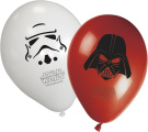 Star Wars Heroes and Villains 30cm Latex Balloons - Pack of 8
