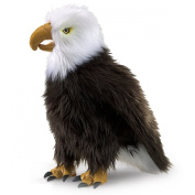 Hand Puppet - Folkmanis - Eagle Perched New Animals Soft Doll Plush Toys 2988