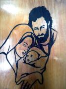 Bethlehem Holy Family Religious Icon Magnet Religious Art Olive Wood Holy Land
