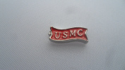 Red USMC Marines Silver Floating Charm for your Origami Owl Living Locket