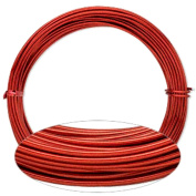 Red Aluminium Wire 12 Gauge Round Wrapping Jewellery Craft 14m Coil
