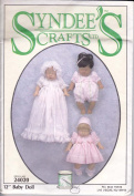 Syndee's Crafts 30cm Baby Doll Clothes Pattern 24020