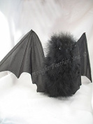 Artificial, Halloween Bat, Large, 46cm wing span, per each