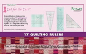 Nifty Notions Cut for the Cure - 15 Quilting Rulers Designed by Kaye England