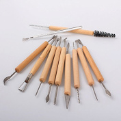 Generic Wax Carving Carvers Polymer Clay Pottery Sculpture Craft DIY Tools